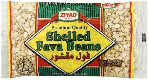 Ziyad Shelled Fava Beans - 16 oz
