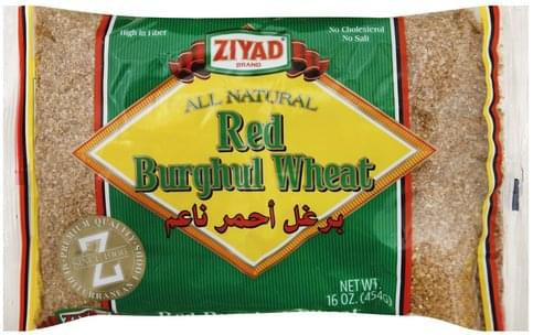 Ziyad Red Burghul Wheat - 16 oz