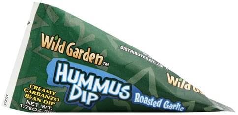 Wild Garden Roasted Garlic Hummus Dip - 1.76 oz