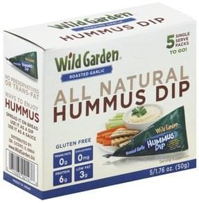Wild Garden Hummus Dip Roasted Garlic
