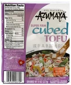 Azumaya Tofu Super Firm Cubed
