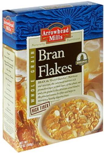 Arrowhead Mills Organic Bran Flakes - 12 oz