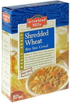 Shredded Wheat Whole Grain Wheat Cereal Whole Grain, Bite Size
