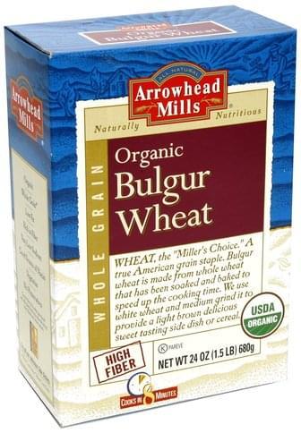 Arrowhead Mills Organic Bulgur Wheat - 24 oz