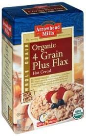 Arrowhead Mills Hot Cereal 4 Grain Plus Flax, Organic