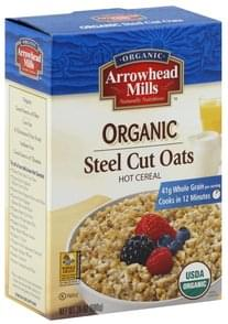 Arrowhead Mills Hot Cereal Steel Cut Oats, Organic