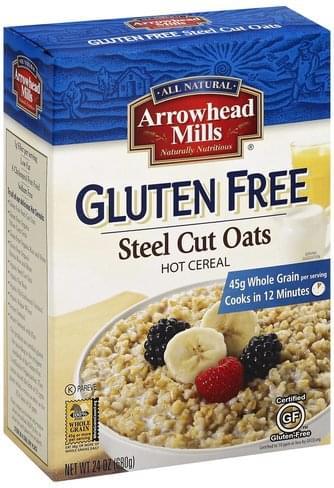 Arrowhead Mills Gluten Free, Steel Cut Oats - 24 oz