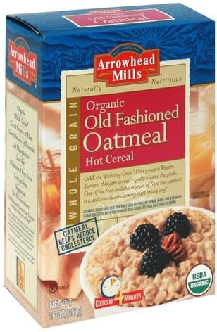 Arrowhead Mills Old Fashioned Oatmeal Hot Cereal - 16 oz