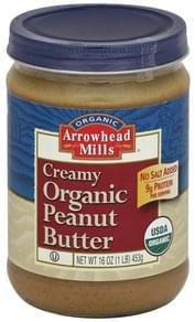 Arrowhead Mills Peanut Butter Organic, Creamy