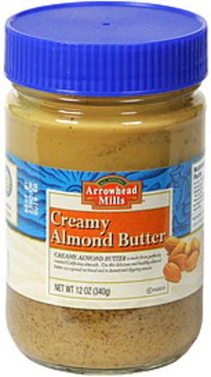 Arrowhead Mills Creamy Almond Butter - 12 oz