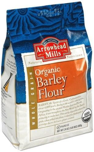 Arrowhead Mills Organic Barley Flour - 24 oz