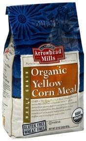 Arrowhead Mills Yellow Corn Meal Organic, Whole Grain
