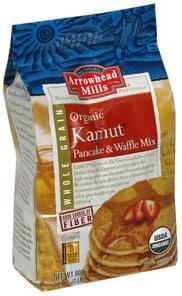 Arrowhead Mills Pancake & Waffle Mix Kamut, Organic