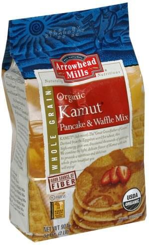 Arrowhead Mills Kamut, Organic Pancake & Waffle Mix - 32 oz
