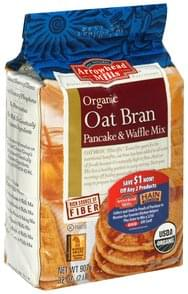 Arrowhead Mills Pancake & Waffle Mix Oat Bran, Organic