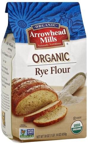 Arrowhead Mills Rye, Organic Flour - 30 oz