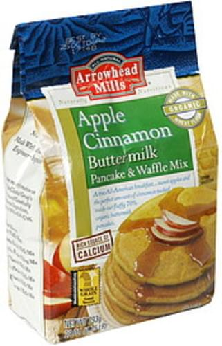 Arrowhead Mills Apple Cinnamon Buttermilk Pancake & Waffle Mix - 28 oz