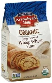 Arrowhead Mills Flour Whole Wheat, Organic, Stone Ground