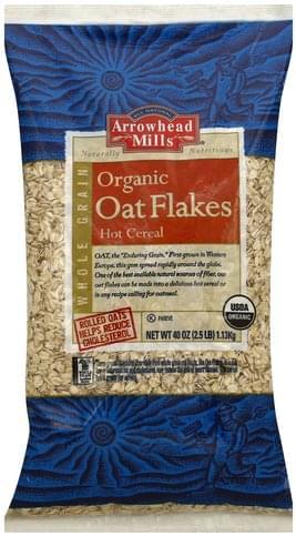 Arrowhead Mills Organic Oat Flakes - 40 oz