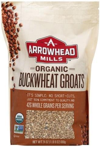 Arrowhead Mills Organic Buckwheat Groats - 24 oz