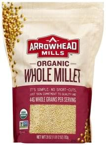 Arrowhead Mills Millet Organic, Whole