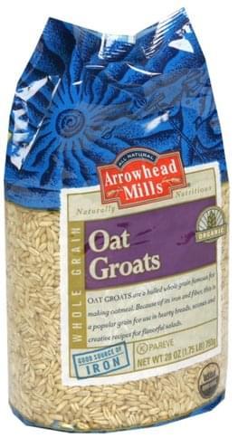 Arrowhead Mills Organic Oat Groats - 28 oz