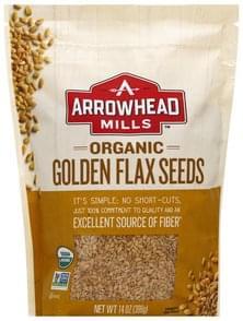 Arrowhead Mills Flax Seeds Organic, Golden