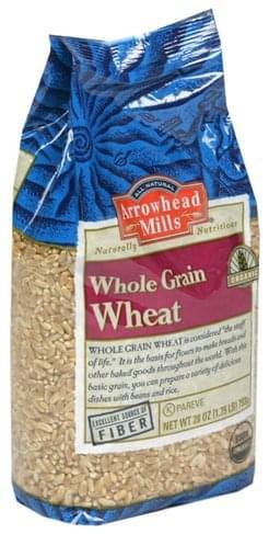 Arrowhead Mills Organic Whole Grain Wheat - 28 oz