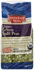 Arrowhead Mills Peas Organic, Split, Green