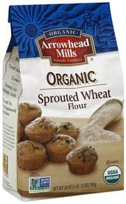 Arrowhead Mills Flour Organic, Sprouted Wheat