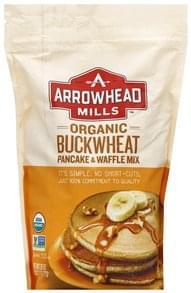 Arrowhead Mills Pancake & Waffle Mix Organic, Buckwheat