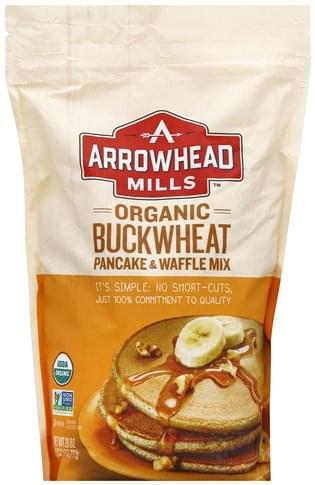 Arrowhead Mills Organic, Buckwheat Pancake & Waffle Mix - 26 oz
