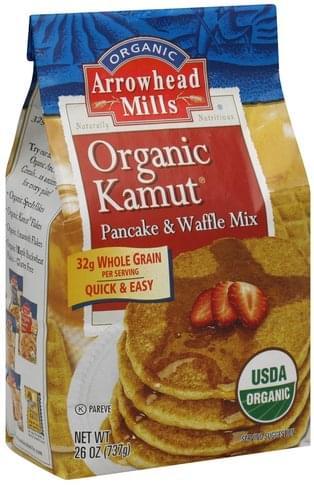 Arrowhead Mills Organic Kamut Pancake & Waffle Mix - 26 oz