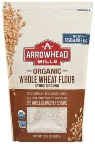 Arrowhead Mills Wheat Flour Organic, Whole, Stone Ground
