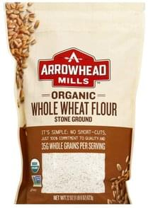 Arrowhead Mills Whole Wheat Flour Organic, Stone Ground