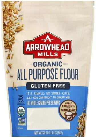 Arrowhead Mills All Purpose, Gluten, Free, Organic Flour