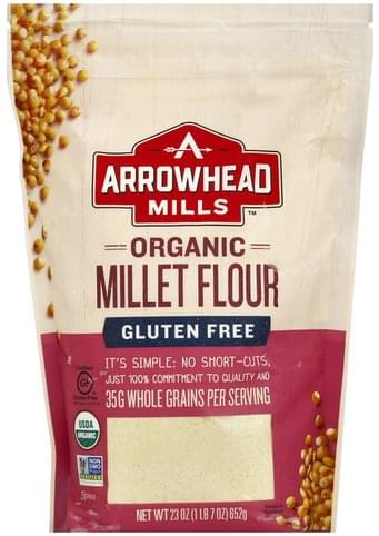 Arrowhead Mills Organic Millet Flour Millet Flour - 23 oz