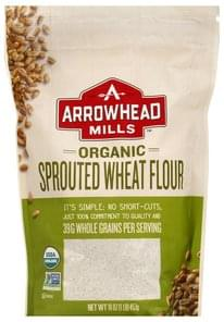 Arrowhead Mills Wheat Flour Sprouted, Organic