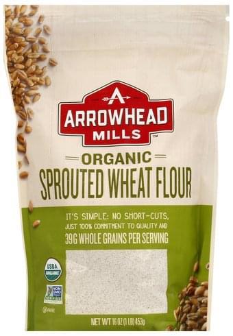 Arrowhead Mills Sprouted, Organic Wheat Flour - 16 oz
