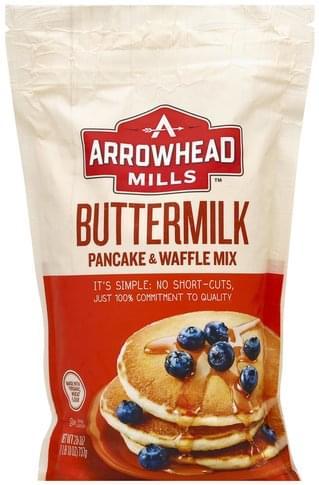 Arrowhead Mills Buttermilk Pancake & Waffle Mix - 26 oz