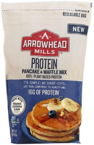 Arrowhead Mills Protein Pancake & Waffle Mix - 22 oz