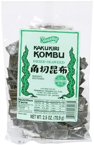 Shirakiku Dried Seaweed - 2.5 oz