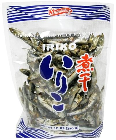 Shirakiku Cooked/Dried Whole Anchovy - 12 oz