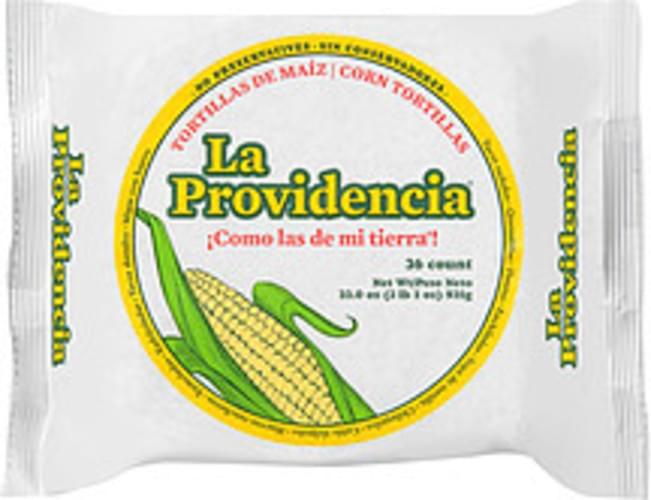 la Providencia Corn Tortillas - 33 oz