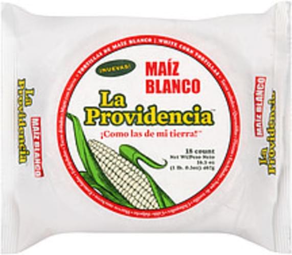 la Providencia White Corn Tortillas - 16.5 oz