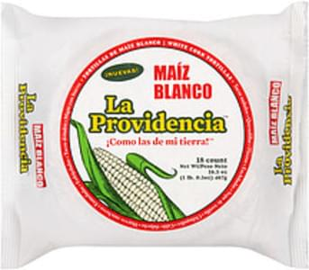la Providencia Tortillas White Corn