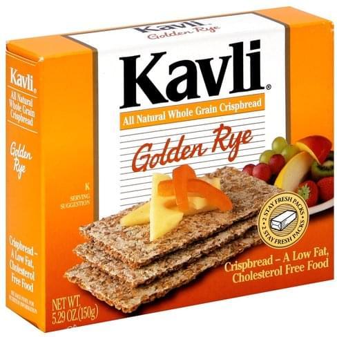 Kavli Golden Rye Crispbread - 5.29 oz