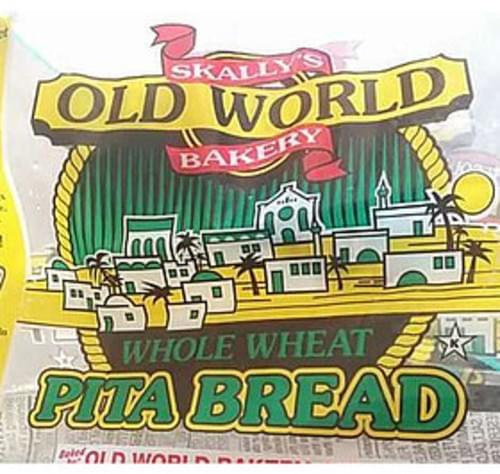 Skally's Old World Bakery Whole Wheat Pita Bread - 57 g