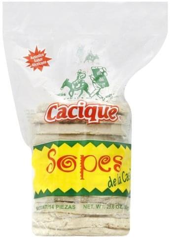 Cacique Sopes - 14 ea
