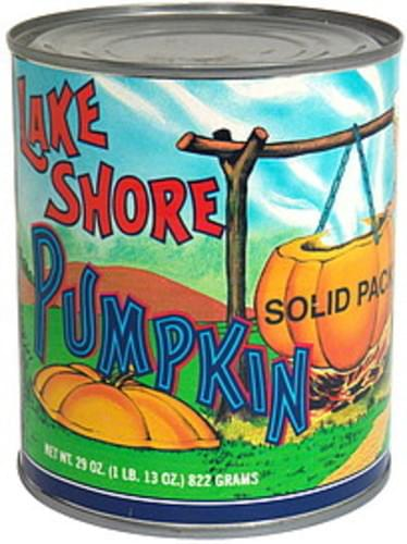 Lake Shore Solid Pack Pumpkin - 29 oz